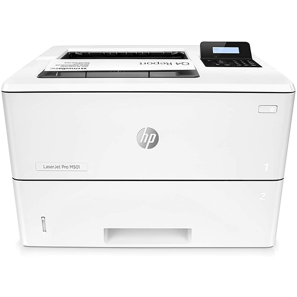 hp laserjet pro m501dn duplex printer with one-year, (j8h61a)2