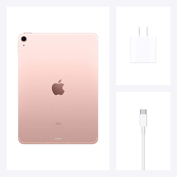 2020 Apple iPad Air (10.9-inch, Wi-Fi + Cellular, 256GB) - Rose Gold (4th Generation) 4
