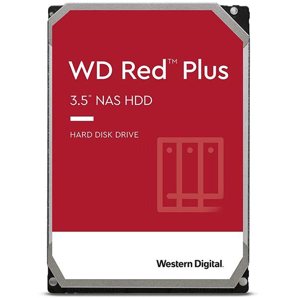 Western Digital Red Plus 4TB 5400rpm SATA 6Gb/s CMR 128MB Cache 3.5Inches NAS Internal Hard Drive ( WD40EFZX)2
