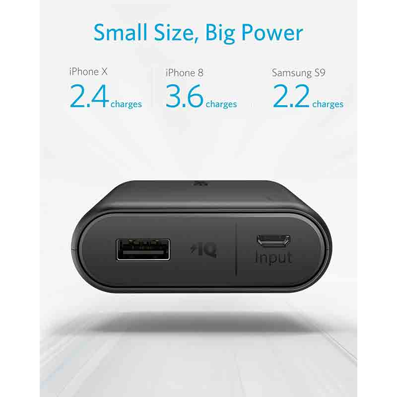 Anker PowerCore 13000 Portable Charger - Compact 13000mAh 2-Port Ultra Portable Phone Charger Power Bank with PowerIQ and VoltageBoost Technology3
