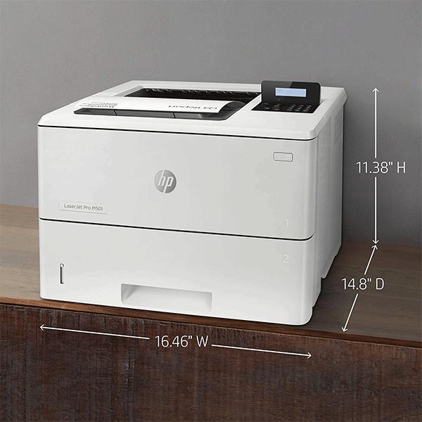 hp laserjet pro m501dn duplex printer with one-year, (j8h61a)3