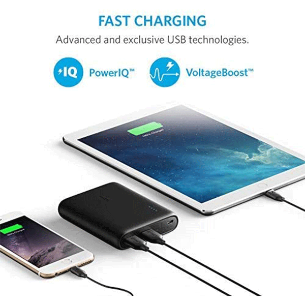 Anker PowerCore 10400 Power Bank, Portable Charger with PowerIQ, Black3