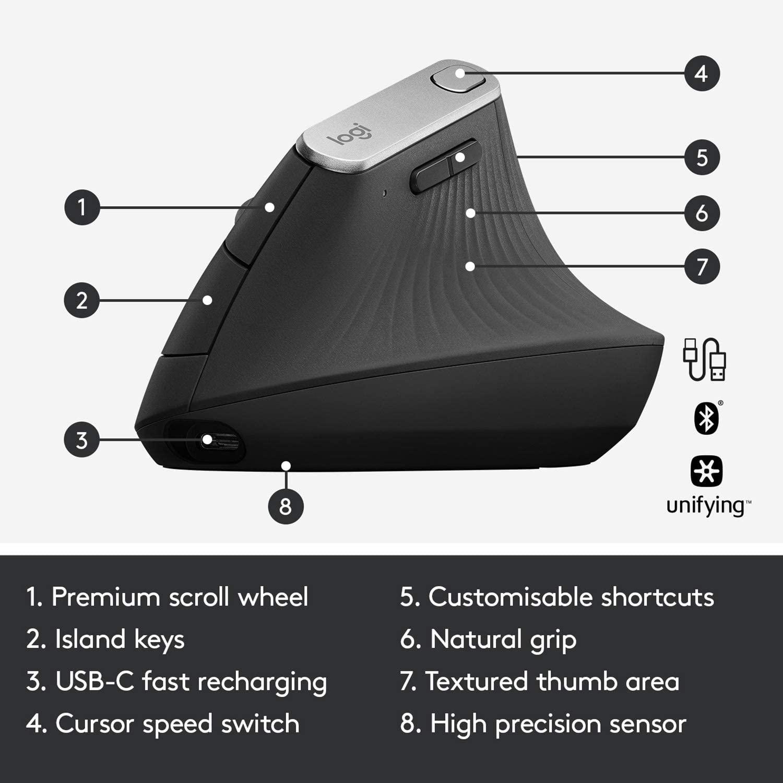 logitech mx vertical advanced ergonomic mouse (910-005448)4