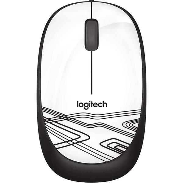 logitech usb optical mouse m105 - white (910-002944)2