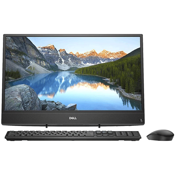 Dell Inspiron 22 3280 All-in-One Desktop (Core i3 (8th Gen)/4GB RAM/1TB HDD/54.61 cm (21.5 inch) FHD/Windows 10 Home2