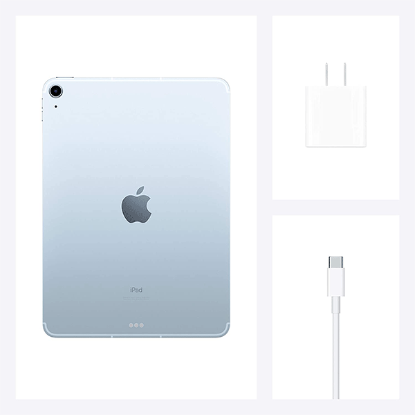 2020 Apple iPad Air (10.9-inch, Wi-Fi + Cellular, 256GB) - Sky Blue (4th Generation) 4