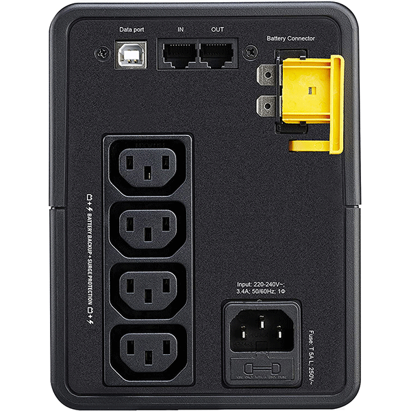 APC Back UPS 750VA - BX750MI - UPS Battery Backup & Surge Protector, Backup Battery with AVR, Dataline Protection, Uniterruptible Power Supply at the best price in Kenya4