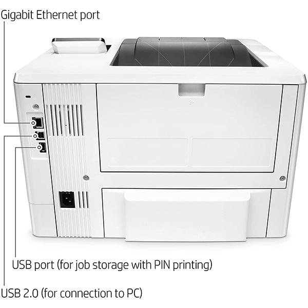 hp laserjet pro m501dn duplex printer with one-year, (j8h61a)4