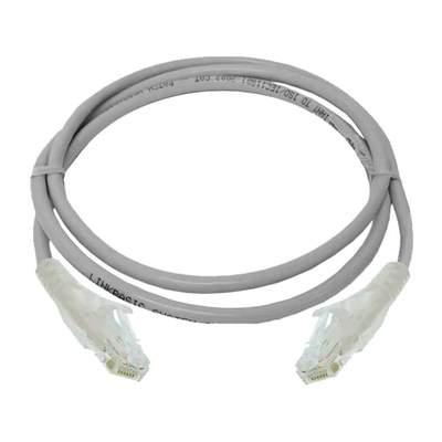 Digilink – Cat6 UTP 24 AWG PVC Round Patch Cord – 3M – Grey Colour – DC6PCURJ03GYM3