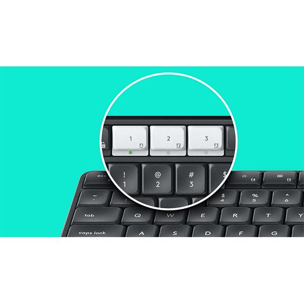 logitech wireless multi-device keyboard k375s - 920-0081814