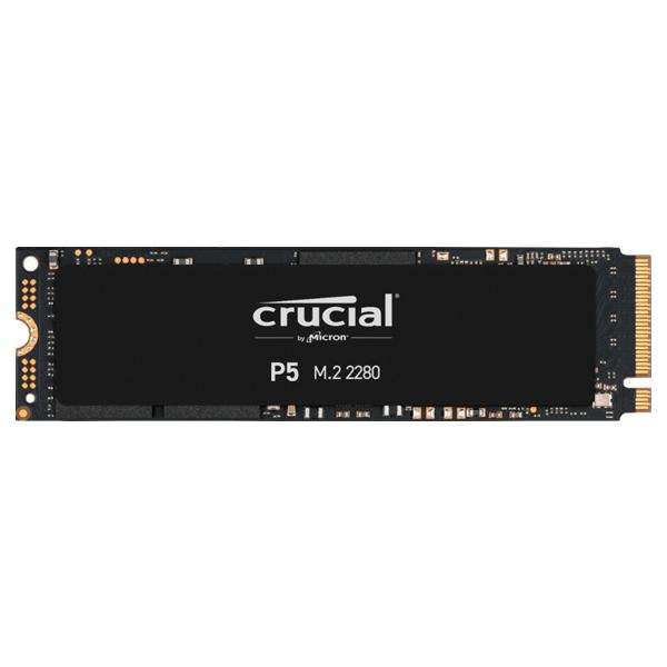 Crucial P5 3D NAND M.2 NVMe High Performance SSD – 500GB  (CT500P5SSD8)2