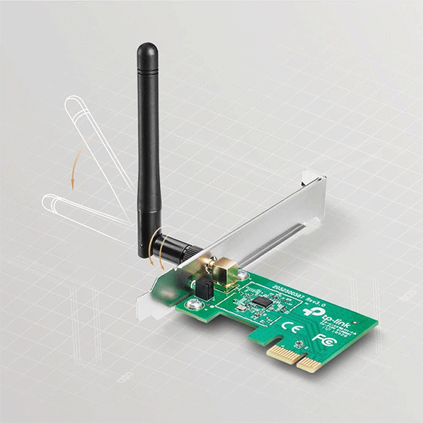 TP-Link TL-WN781ND Wireless N PCI Express Adapter4