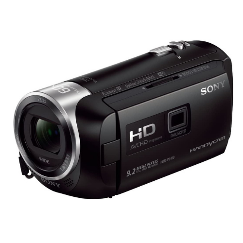Sony HDR-PJ410 Full HD Camcorder with Built-In Projector (30x Optical Zoom, Optical SteadyShot, Wi-Fi and NFC)3