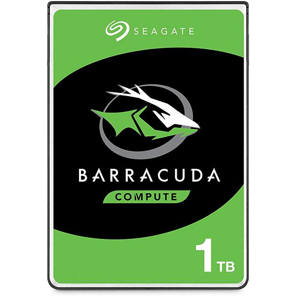 Seagate BarraCuda 1TB Internal Hard Drive HDD – 2.5 Inch SATA 6 Gb/s 5400 RPM 128MB Cache for PC Laptop (ST1000LM048)4