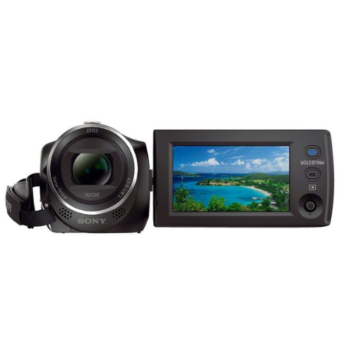 Sony HDR-PJ410 Full HD Camcorder with Built-In Projector (30x Optical Zoom, Optical SteadyShot, Wi-Fi and NFC)2