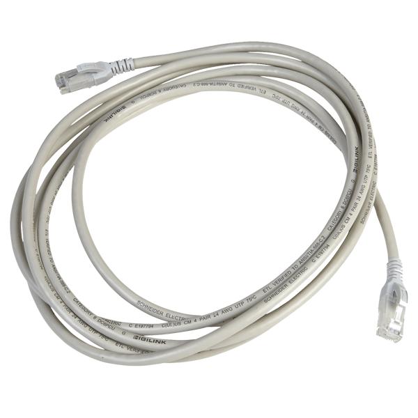 Digilink – Cat6 UTP 24 AWG PVC Round Patch Cord – 3M – Grey Colour – DC6PCURJ03GYM2