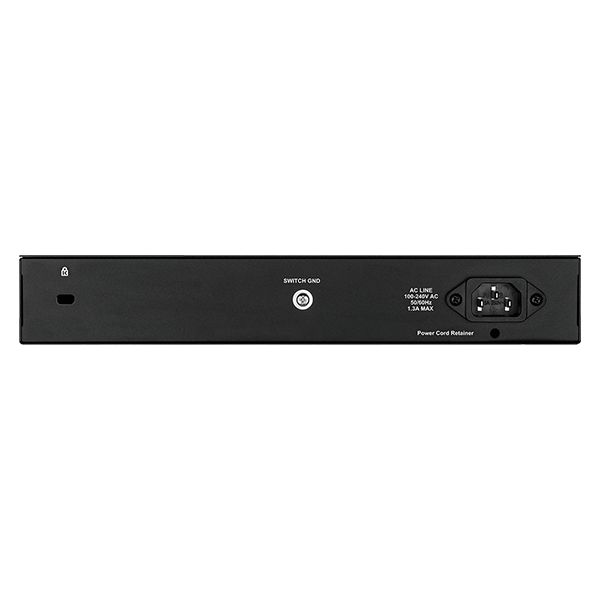 D-Link 8-ports 10/100/1000Base-T PoE + 2 SFP ports Smart Switch, 78W PoE Power budget.  (802.3af/802.3at support) - DGS-1210-10P4